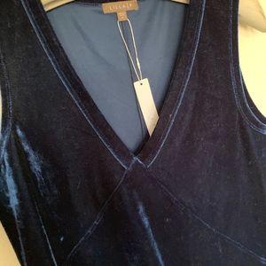 Lilla P Dresses - NWT Lilla P navy blue velvet dress